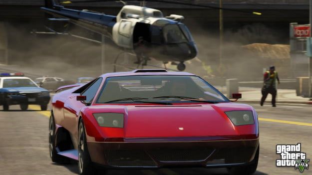Grand Theft Auto 5 Getting away 2